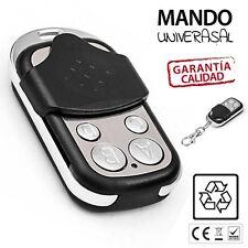 MANDO GARAJE GARAGE UNIVERSAL DUPLICADOR A DISTANCIA PUERTA 433.92 ENVIO ESPAÑA