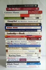 Lot 24 Ken Blanchard Books (HC) One Minute Manager Leadership Management Golf
