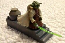 STAR WARS Prequels ACTION FIGURE TOY 5 in YODA w LAUNCH PAD EP 1 2 3 Hasbro