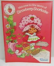 1980 Kenner Strawberry Shortcake Toy Fair Catalog introducing the line