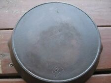 "10 1/2""  CHF Cast Iron Skillet Frying Pan  Diamond 8 A Heat Ring Outside"