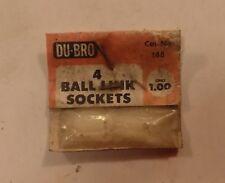 2 of Du-Bro 188 Ball Link Sockets NIP