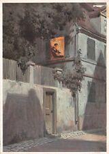 Paul Hey Aus der Kleinstadt Mondnacht Nr. 6248  Künstler Postkarte