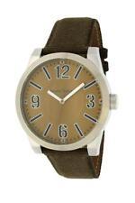 Bruno Banani Taras Big Men's Watch TB3061805 Analog Leather, Textile Brown