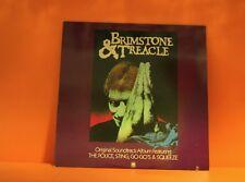 BRIMSTONE & TREACLE - SOUNDTRACK (POLICE, GO-GOS, SQUEEZE & MORE) EX VINYL LP