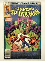 AMAZING SPIDER-MAN #207  MARVEL 1980 MESMMERO'S REVENGE Newsstand COMIC BOOK