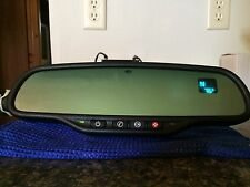 Gentex 511 Onstar Auto-dim Mirror with Compass/Temp w/New Temp Sensor/Wire Cover