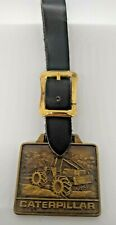 Caterpillar Log Skid Tractor Pocket Watch Fob CAT Vintage