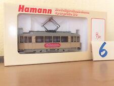 Hamann Strassenbahn Aufbautyp Frankfurt K Triebwagen Neckermann NEU OVP Roco
