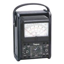 Simpson Electric 260 8prt Analog Multimeter1000v10a20m Ohms