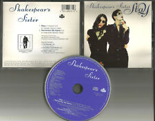SHAKESPEAR'S SISTER Stay w/ UNRELEASED TRK & snippets USA LIMITED CD single 1992