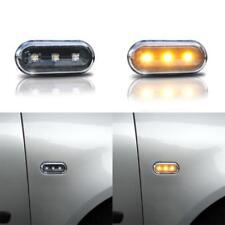 2 JOM LED Seitenblinker Blinker SET Rechts / Links klarglas schwarz Blinker Neu