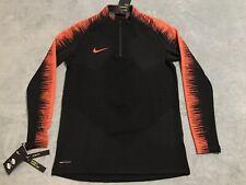 13496d4a9 Nike VaporKnit Strike Long Sleeve Soccer Top Men's MEDIUM M Black  892707-016 NWT