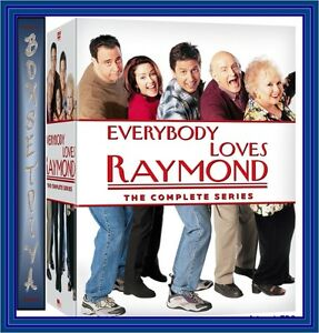 EVERYBODY LOVES RAYMOND COMPLETE HBO SERIES 1- 9 *BRAND NEW DVD R2 & R4*
