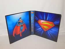 Custom Made Superman Trading Card Album Binder