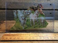 Antique Lion's Coffee Paper Dolls Advertising, Little Bo-Peep Sheep
