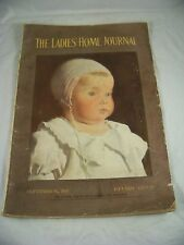 LADIES HOME JOURNAL SEPTEMBER 1911 COLOR FASHION ILLUSTRATIONS MAGAZINE