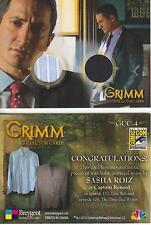 Grimm - Breygent San Diego 2014 SDCC GCC-4 Dual Costume Card worn by Capt Renard