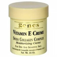 Genes Vitamin E Creme Swiss Collagen Complex Moisturizing Creme for Dry and