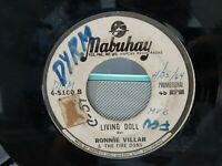 """PROMO 7"""" 45 rpm single philippines - ronnie villar and the firedons / BOYS"""
