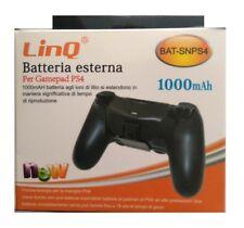 Bateria Externa recargable Banco de energía para Playstation 4 Mando PS4 1000mAh