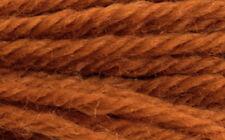 "Latch Hook Yarn - Terracotta 400 strands 3ply 2.5"" long Use on 4.5hpi canvas"