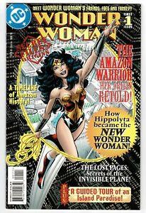 Wonder Woman Secret Files/Origins - No 1 - 1998 HIGH GRADE!