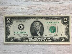 1976 US Two dollar Bill - Crisp