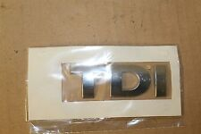 VW Various Fitments TDI Badge All Silver 3B0853675D739 New genuine VW part