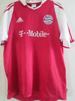 Bayern Munich 2004-2005 Home Football Shirt Size Youths  / 39141