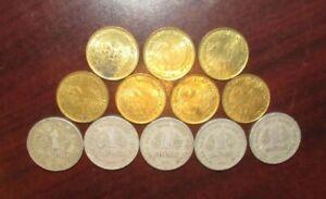 Lot of 12 - 1970's Vietnam Dong Coins - Vietnamese
