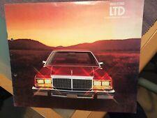Prospekt brochure Ford LTD USA 1979