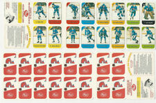 1982 Post, Hockey Playing Cards Panel, Nordiques, Goulet, Peter, Stastny, ZQL
