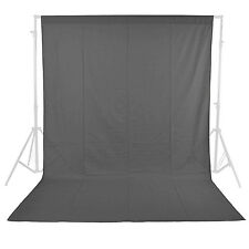 Neewer Photo Studio 100%25 Pure Muslin Backdrop 6 x 9ft/1.8 x 2.8M (Grey) ND#17