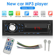 1 DIN FM Stereo Radio MP3 Player Car Receiver USB AUX Input in Dash Head Unit
