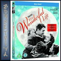 ITS A WONDERFUL LIFE - REMASTERED  *BRAND NEW BLURAY REGION FREE **