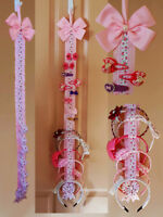 Hair Bow Holder Headband Organiser for Bow Clips Bows Alice bands