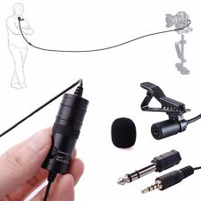 For BOYA BY-M1 Omnidirectional Lavalier Microphone fr Canon Nikon DSLR Camcorder