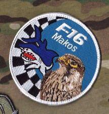 F-16 FALCON SWIRL vel©®😎 INSIGNIA: USAF 93d Fighter Squadron 93 FS MAKOS SHARK