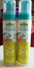 Sesame Street Nourishing Naturals 2-in-1 Gentle Shampoo & Wash 8oz - Lot Of 2
