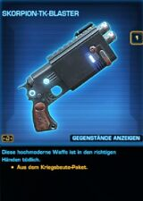 SWTOR - Waffe - Skorpion-TK-Blaster - Tulak Hord - Credits