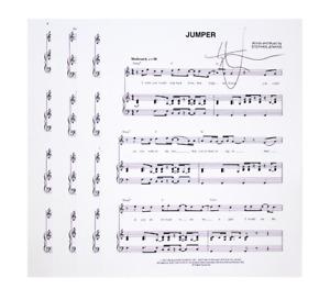 Third Eye Blind SIGNED Lyrics - Jumper