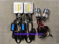 FOG LIGHTS 4300K H11 CANBUS NO ERROR SLIM XENON HID 06-08 FOR BMW E90 E91 335i