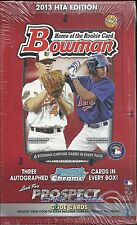 2013 Bowman Factory Sealed Baseball Jumbo Box   Manny Machado  RC  ??
