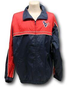 Men's Reebok Houston Texans NFL Windbreaker Jacket Size XL NWT