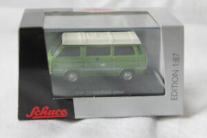Schuco 452614100 VW T3 Camper Westfalia Joker grün mit Hubdach 1:87