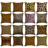 FJ- Sexy Leopard Print Throw Pillow Case Cushion Cover Sofa Bed Car Bedroom Myst