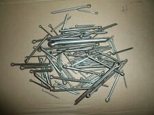 100 x new mixed sizes metal split pins different lengths and thickness .