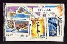 Fusées - Space Rocket 50 timbres différents oblitérés