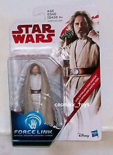 STAR WARS FORCE LINK ACTIVATED LUKE SKYWALKER (JEDI MASTER) HASBRO